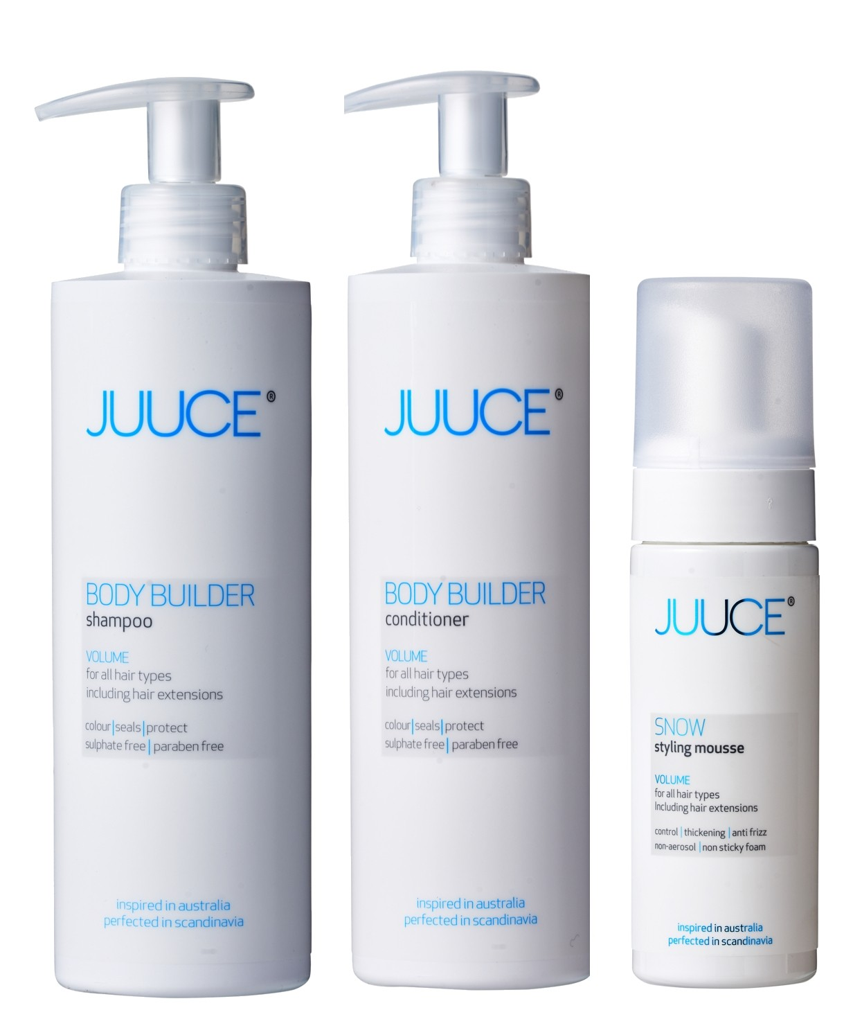 VOLUME BOOSTER VOLUME SHAMPOO + CONDITIONER + SNOW STYLING MOUSSE-32