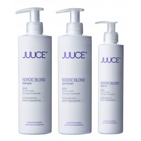 DAGLIG LUKSUS TIL BLOND HÅR SHAMPOO + CONDITIONER + LEAVE IN-20